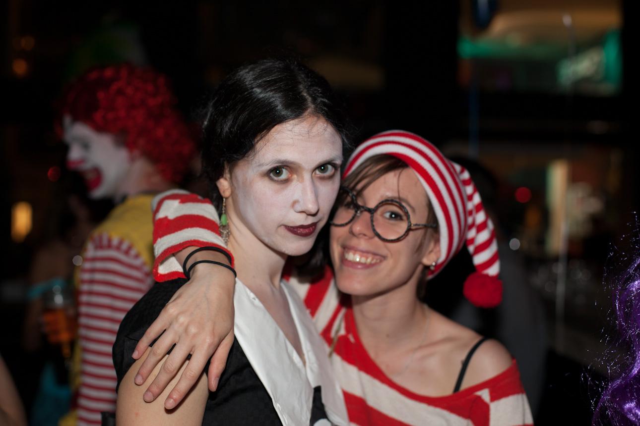 Kostüm Party Animation Obligation Yart Bar