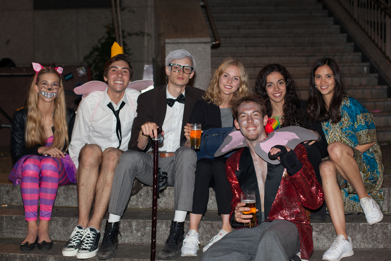 Photographs from the Costume Party Animation Obligation Yart Bar