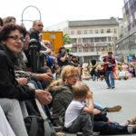 Straßenumzug Karneval der Kulturen in Berlin