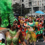 Colourful parade:Carnival of Cultures Berlin
